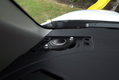 2012 Toyota Tundra XSP-X (Double Cab, No JBL system, standard factory radio/speakers) Tweeter Installation - USA