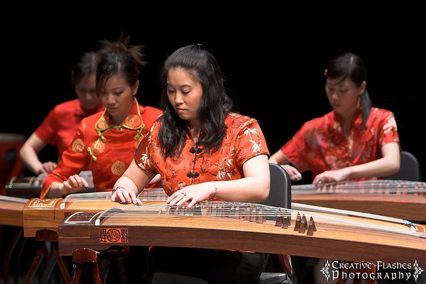 Harvest Festival & Folk Song from Taiwan by USNW Guzheng Orchestra
