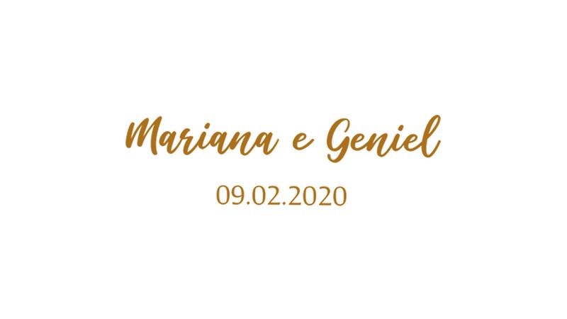 Mariana & Geniel
