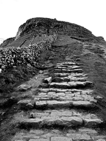 The Stairway to Heaven - an 'Escape from Mordor' - style pathway