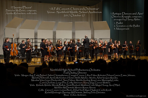 NHS Orchestras & Choirs 2017 October