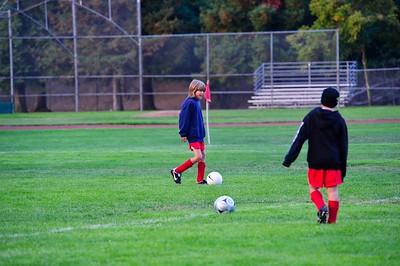 Mustang Soccer - 2010 - Team Revolution - Game 3