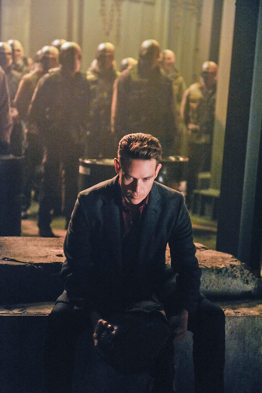 """. Kevin Alejandro as Sebastian Blood in The CW\'s \""""Arrow.\""""  (Photo by Alan Zenuk/The CW -- © 2014 The CW Network, LLC. All Rights Reserved.)"""