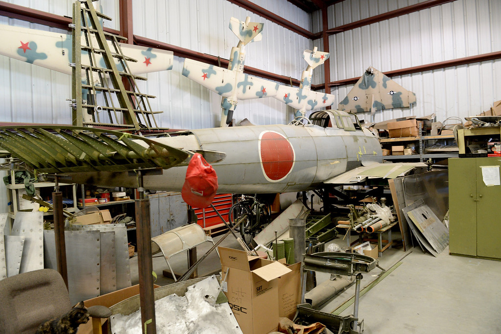""". The Planes of Fame Air Museum in Chino, CA., will present �Attack on Pearl Harbor\' for its monthly Living History Event, which guest speaker Dan king author of the book \""""The Last Zero Fighter\"""". (John Valenzuela/Staff Photographer)"""