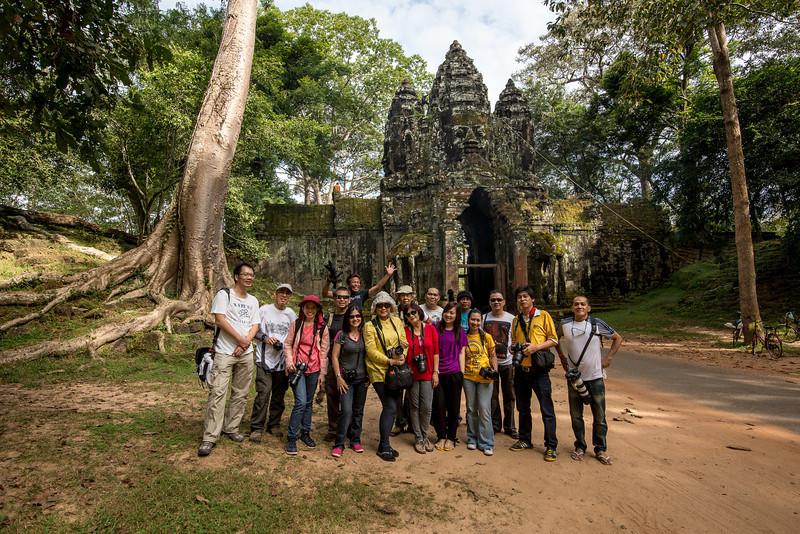 Tour Kamboja 22-26 Desember 2013