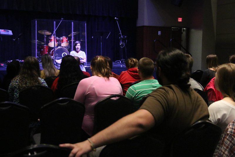 Rachel Rushing also led a breakout session on embracing the season God has you in, finding your identity in Christ, and worship Friday night after the main session.