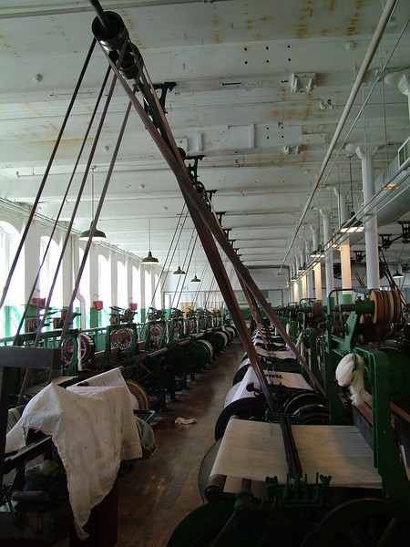 Boott Cotton Mill - Weave Room - Lowell, MA