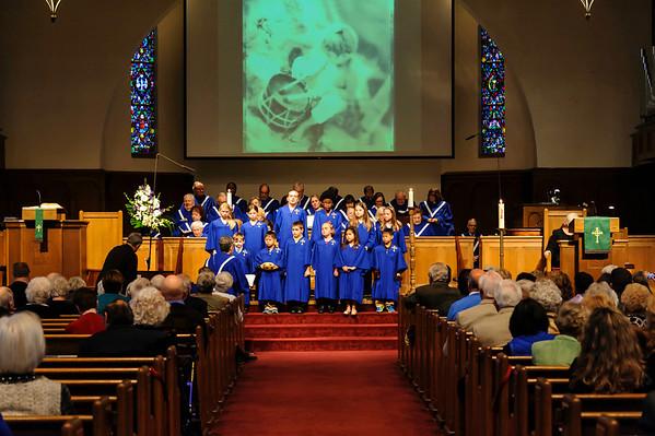Children's Choir New Robes 2-09-2014