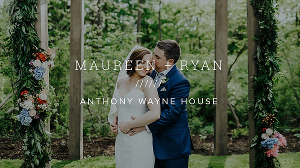 MAUREEN + RYAN ////// ANTHONY WAYNE HOUSE