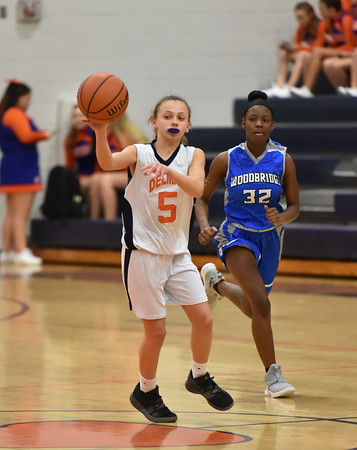Delmar Middle Girls Basketball vs Woodbridge