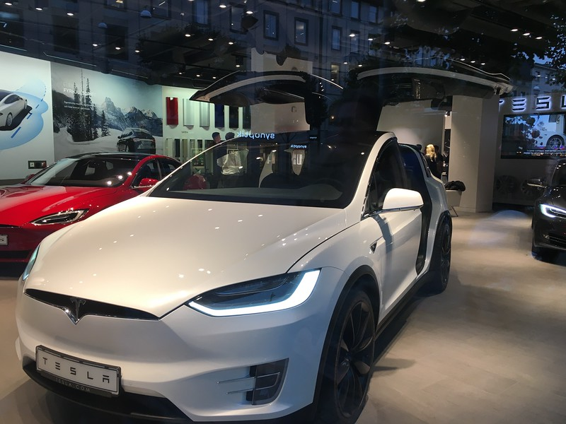 Tesla Showroom, Gothenburg, Sweden.