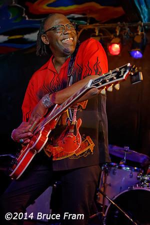 Joe Louis Walker at Moe's Alley 2014