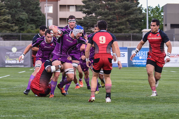 Pro Rugby League - Denver vs San Francisco - 20160520
