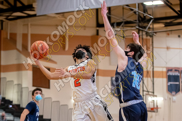 Taunton-Franklin Boys Basketball - 01-23-21