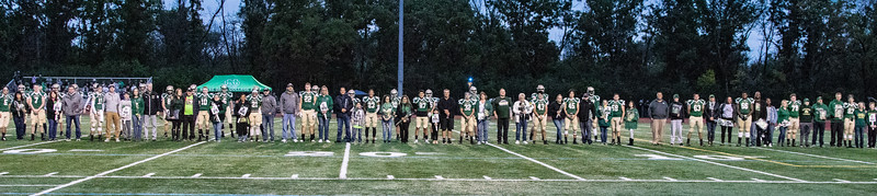 2018-10-06 Football Senior Night (Parents & Players)