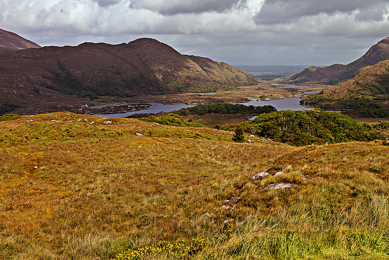 Upper Lake from Lady's View, Killarney National Park