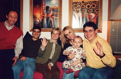 11-7-1998 Eduardo & Fernanda Chavez dinner