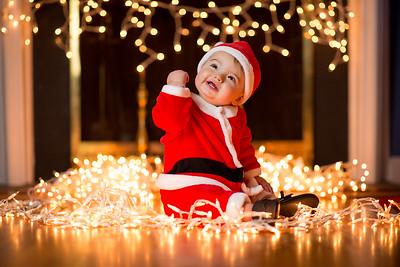 Gabe's Christmas Portrait 2016