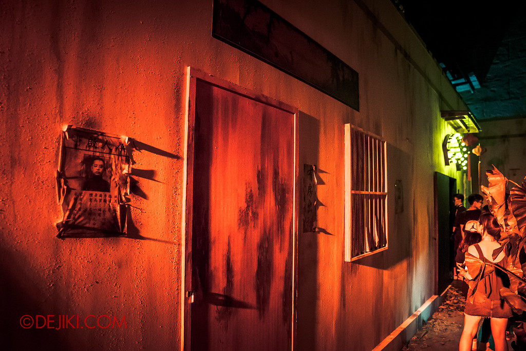 Halloween Horror Nights 6 - Hu Li's Inn / Dark seedy alley