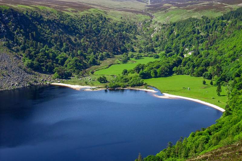 Lough Tay and Luggala