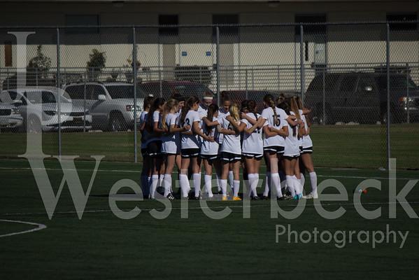 Varsity Girls Soccer vs Murrieta