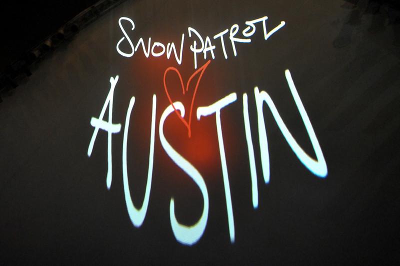 Snow Patrol @ Stubbs, Austin TX