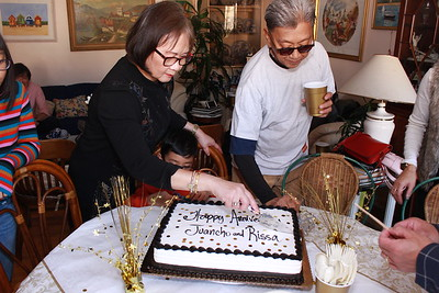 Thanksgiving & Tita Rissa-Tito Juancho's 50th Wedding Anniversary