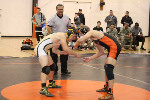 Varsity Wrestling Hosts Tri-Meet