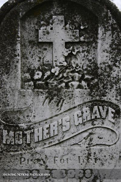 My Mother's Grave (Calvary Cemetery, Milwaukee WI)