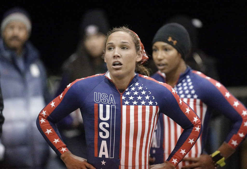 ". <p>4. LOLO JONES <p>Quarantined to keep her away from her teammates. She also has the flu. (unranked) <p><b><a href=\'http://www.dailymail.co.uk/news/article-2555943/Bobsledder-Lolo-Jones-quarantined-falling-ill-Sochi.html\' target=""_blank\""> HUH?</a></b> <p>    (AP Photo/Rick Bowmer, File)"