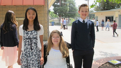 LCE 6th-Graders Ready for Commencement