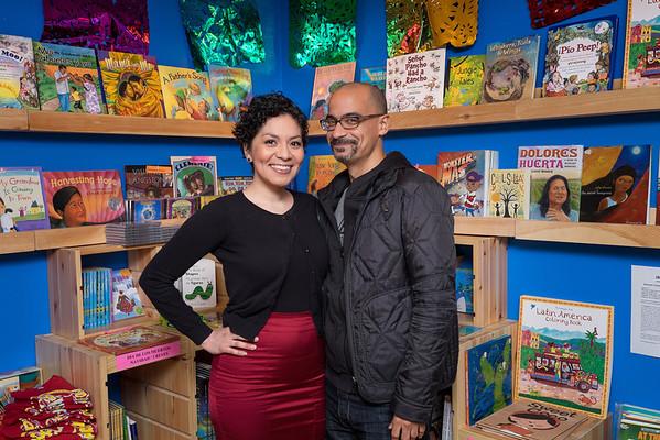 Junot Diaz at La Casa Azul Bookstore