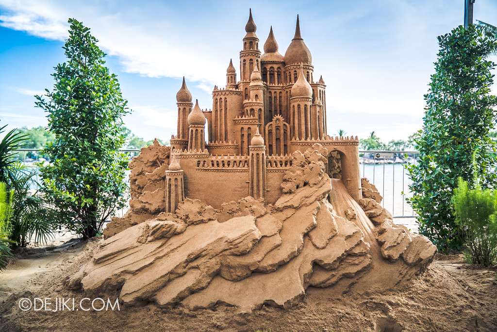 Sentosa Sandsation 2017 - Sandcastle display