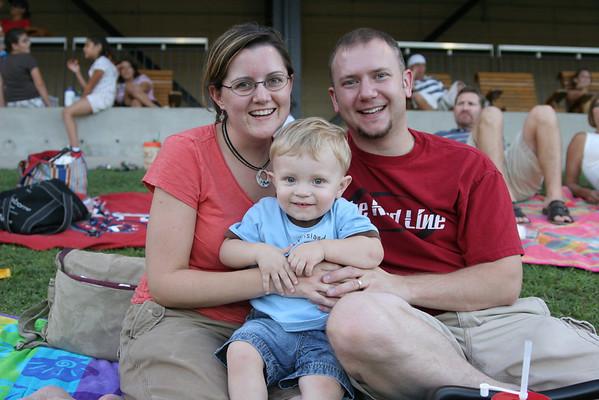 Jonah's 1st Baseball Game at the Round Rock Express - July 2, 2008