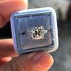Art Deco Illusion Mounting, in Platinum 10