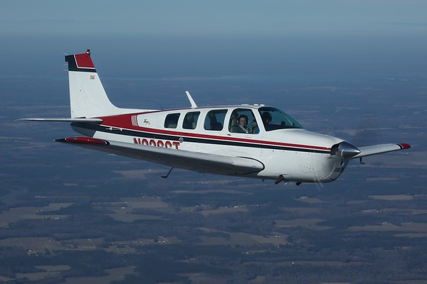"1968 Beechcraft A36 ""Bonanza"", Norfolk, 21Jan18"