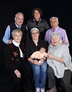 Lisa, Diane, Arianna & Family
