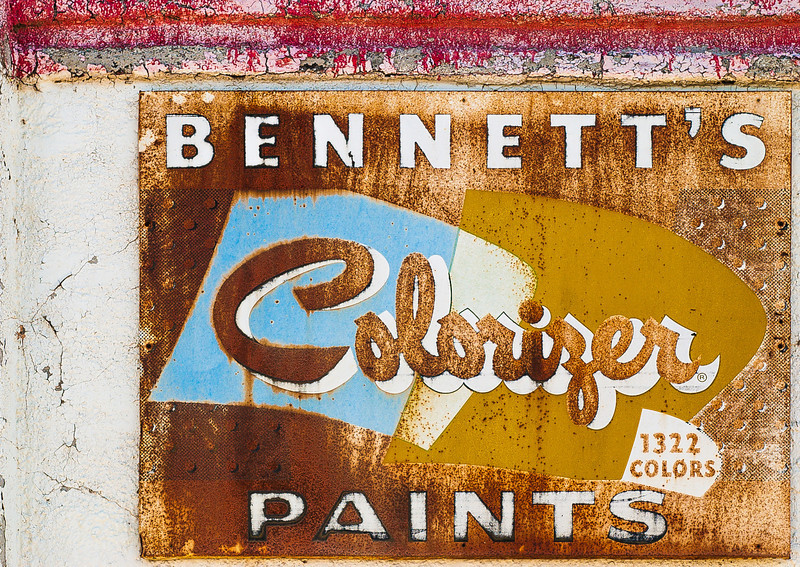 Bennett's Colorizer Paints, Panguitch, Utah, 2000