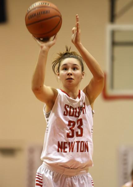 SNHS Girls Basketball vs North Newton 2014