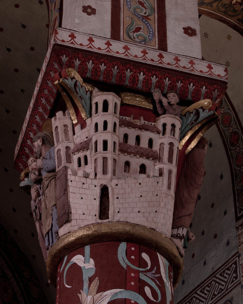 Issoire. Saint-Austremoine Abbey, The Heavenly Jerusalem
