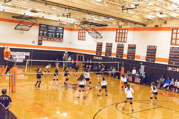 Tuckahoe  Varsity Girls Volleyball vs YMA
