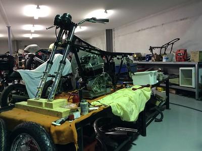 Ducati GTL restoration.