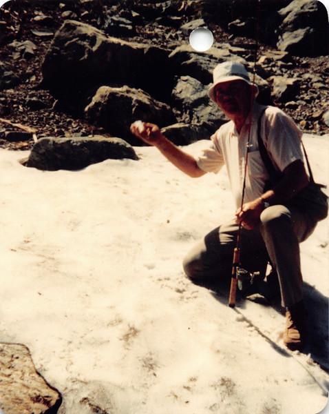 Ruben at Lakes Basin
