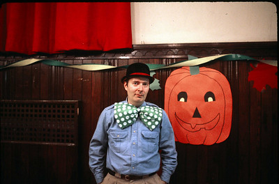 Halloween Party, Oct. 26, 1985.