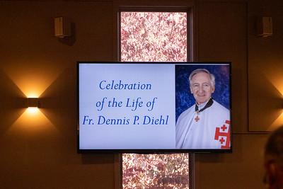 Fr Dennis' funeral