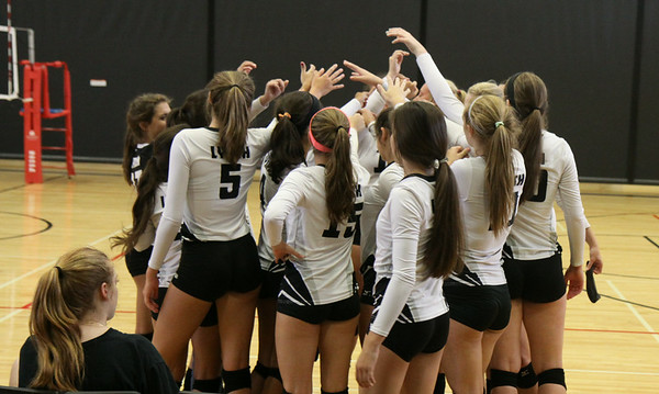 BL Vars. Vball @ Pearland Game 3 (8/14/2014)