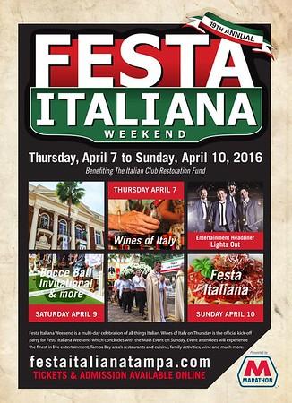 19th Annual Festa Italiana @ Centennial Park
