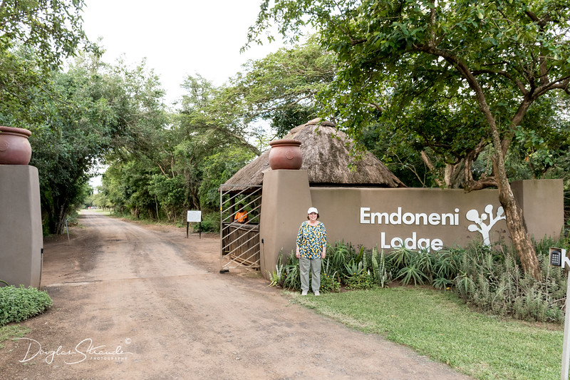 Emdoneni Lodge entrance