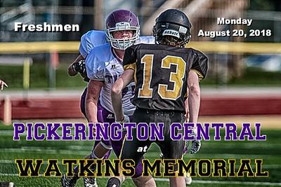 2018 FRESHMEN Pickerington Central at Watkins Memorial (08-20-18)