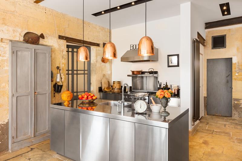 Kitchen; Bordeaux, France